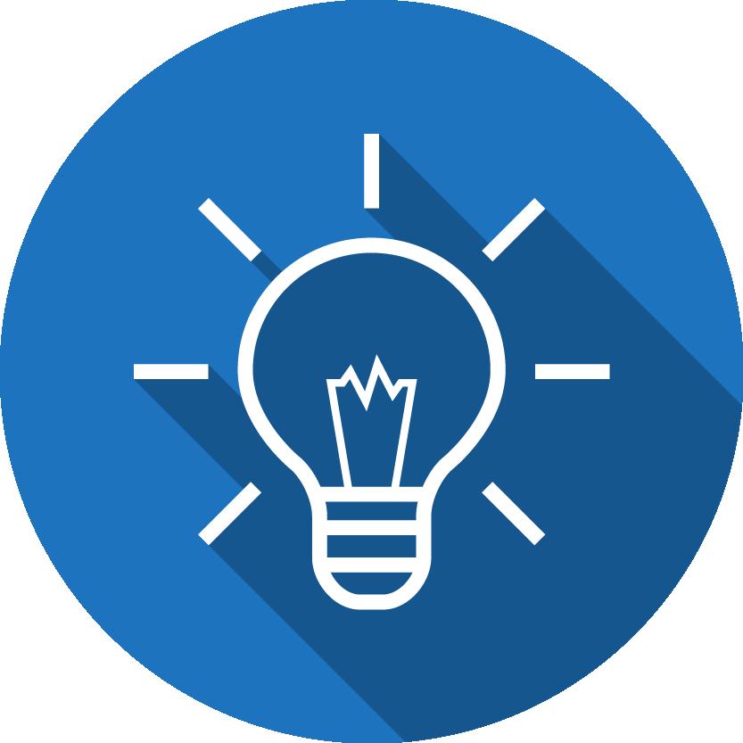 Icone Idée icone idee bleu | OwnBusiness   Créateur d'entreprise